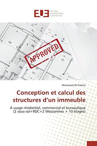 Conception et calcul des structures d un immeuble