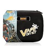 Becemuru Vape 12en 1Cigarette électronique DIY Outil Kit Kit de tournevis de précision Outil de réparation professionnel pour fumeur avec ensemble de sac de toile