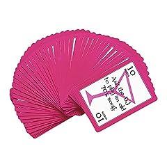 Idea Regalo - WIDMANN 8857C–52carte da gioco con attività, Mazzi Di Carte Da Gioco