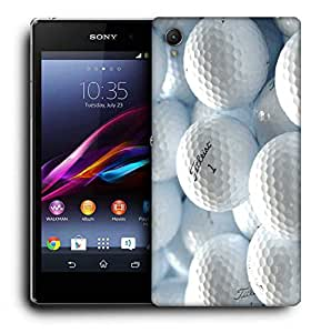 Snoogg Fitleist Printed Protective Phone Back Case Cover For Sony Xperia Z3