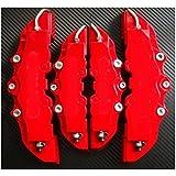 Arspeed Bk125 - Cubiertas para frenos, color rojo
