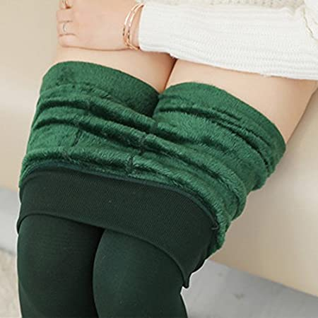 Youji New Plus Samt Dicke Leggings Herbst und Winter Hosen Warm Wear Hosen Frauen