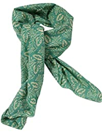 Girl's & Women's Stole & Dupatta With 100 % Cotton Floral Print ( Size- 100 X 200 Cm) - B06W2LVLP3