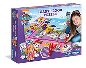 Clementoni 61825 - Puzle Gigante de Piso para niña Paw Patrol Girl
