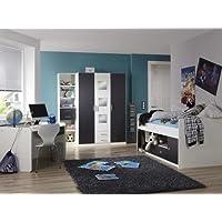 Jugendzimmer Rocco (Jugendzimmer Rocco 4-teilig Funktionsbett) preisvergleich bei kinderzimmerdekopreise.eu