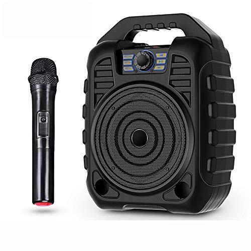 TINGYIN Outdoor tragbare drahtlose Bluetooth-Lautsprecher mit großer Kapazität übergewichtigen Heim-Subwoofer Mini-Bluetooth-Stereo, Dual-Voice-Coil-Lautsprecher -3600mAh Batterie Dual Voice Coil Speaker