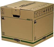 Bankers Box SmoothMove Fastfold Removal Box - Large, Pack of 5
