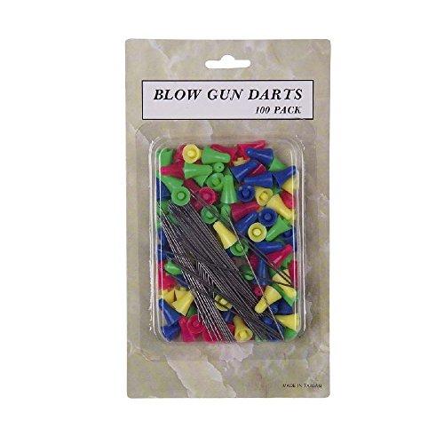 Preisvergleich Produktbild 100 G8DS® Stahl Pfeile Darts für Sport Präzisions Blasrohr Ersatzpfeile