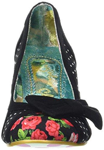 Irregular Choice - Snapple, Scarpe col tacco Donna Nero (Nero)
