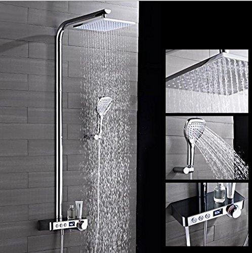 BBSLT Display digitale per il PULSANTE converti doccia termostatica imposta