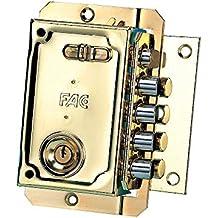Fac S-90  - Cerradura, sentido de apertura izquierda, color dorada