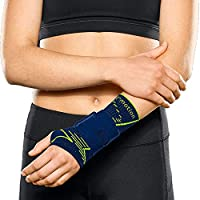 Medi Manumed active E⁺motion® Handgelenkbandage I deep ocean/green rechts preisvergleich bei billige-tabletten.eu