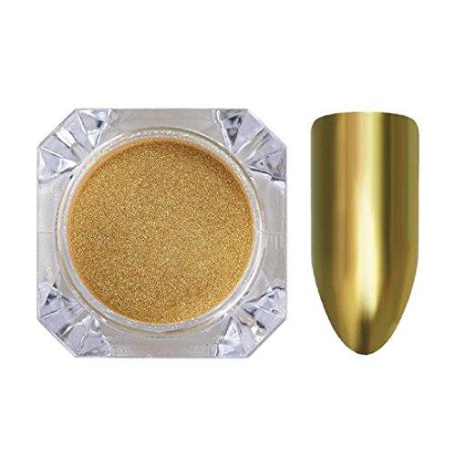 1g Born Pretty Metallic Mirror Powder GOLD Nail Art Chrome Pigment Glitters