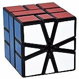 LSMY Extraño Giro Especial en Forma de Puzzle Cubo, Toy Negro