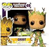 Funko POP! Vinyl Marvel Guardians of the Galaxy Groot Glow In The Dark Exclusive by FunKo