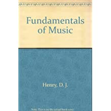 Fundamentals of Music & Compact Disc Pkg by Earl Henry (2003-08-01)