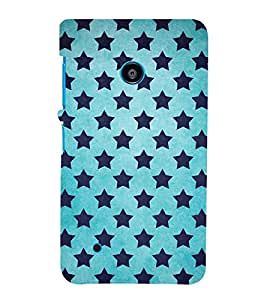 FUSON Grunge Star Pattern 3D Hard Polycarbonate Designer Back Case Cover for Nokia Lumia 530 :: Nokia Lumia 530 RM 1017 :: Nokia Lumia 530 Dual SIM :: Microsoft Lumia 530 Dual