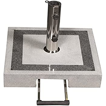 profiline 40 kg granit schirmst nder mit rollen. Black Bedroom Furniture Sets. Home Design Ideas