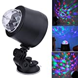 #2: ZIGLY USB DJ Light LED Stage Effect Lighting Mini Disco Ball Sound active Party Lights For Car and Home