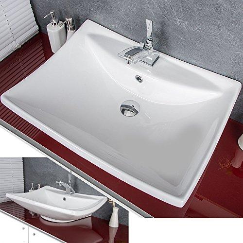 Prieser Waschbecken Waschschale Aufsatzwaschbecken Badezimmer Waschplatz KRNEU