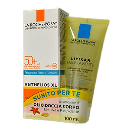 La Roche-Posay Anthelios XL Spray Invisibile Spf50 200ml + Lipikar Olio Detergente 100ml Promo