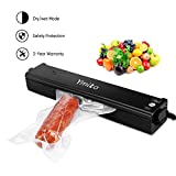 Vacuum Sealer Machine ,Ymiko Portable Compact Vacuum Sealing System for Vacuum and Seal /Seal ,Sous Vide Cooking Mufti-function including 20 Bags