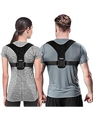 VARNIC Geradehalter zur Haltungskorrektur Rückenstütze Damen und Herren Geradehalter Rücken Bandage zur Haltungskorrektur bei Rücken Schulterschmerzen