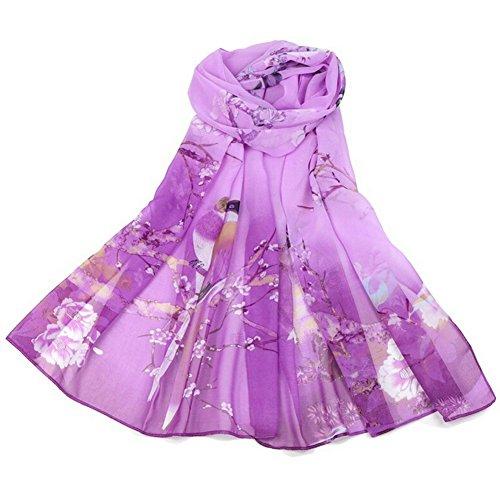 Aloiness donna sciarpa scialle cerimonia sciarpa stole ideale per abiti da sera, matrimoni, feste, per damigella d'onore, sposa o vestiti da sposa o prom proms