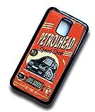 KOOLART Petrolhead Speed Shop Design für Retro schwarz BMW 3er E36 M3 Hartschale Case PASST Samsung Galaxy S5