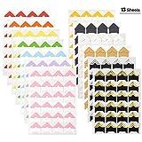 WXJ13 13 Blatt 13 Farben Fotoecken Foto Ecken