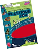 Diam's DI42264  Feuilles Plastique Fou Couleurs Assorties 29,7 x 21,6 x 0,1 cm Lot de 7