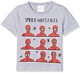 Spiderman Spidey, Camiseta para Niños, Gris (Grey 213), 3 años