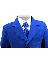 Traje para niños, color azul, tallas de 6mesesa16años
