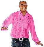 Folat 21962 - Disco Shirt, M/L, rosa