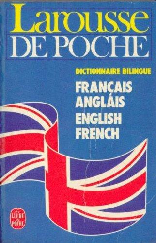 Larousse de poche français-anglais, anglais-français