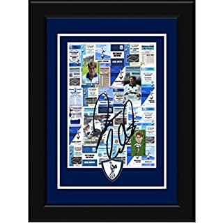 The Art of Sport Darren Anderton Signed and Framed Pin Badge