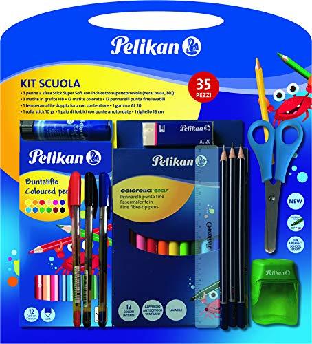 Pelikan Kit Scuola con 35 pezzi