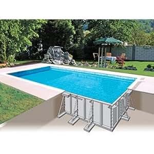Kit piscine enterrée acier STARPOOL Elite ovale 8x4x1,5 Star Pool SK800