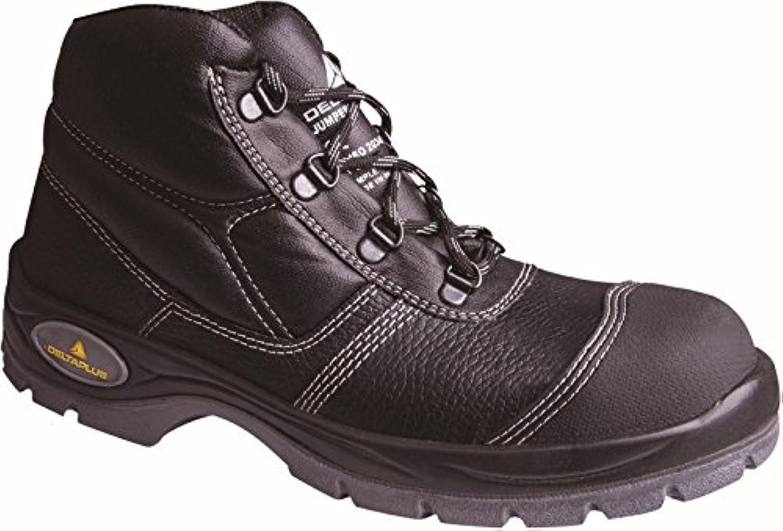 Delta plus calzado - Bota piel crupon suela poliuretano negro talla 42