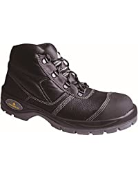 Delta plus calzado - Bota piel crupon suela poliuretano negro talla 40