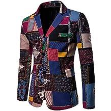 Logobeing Chaqueta de Traje para Hombre,Chaquetas para Hombre de Vestir Blazer Hombre Casual Chaqueta