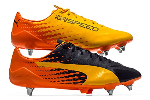 Puma Evospeed 17 Sl S Mx Sg, Chaussures de Football Homme yellow