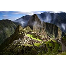 (Peru Ancient City Machu Picchu Mountains)Print Posters Art Printed Canvas Posters 20x30inch