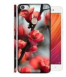 99Sublimation Designer Back Case Cover for Redmi Y1 Lite Flowers Blossoms In Stem