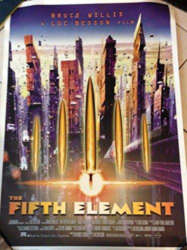 Le Cinquième Elements - Bruce Willis - 60X80Cm Affiche / Poster