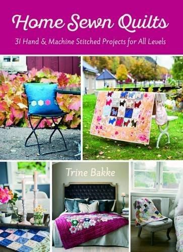 Home Sewn Quilts por Trine Bakke