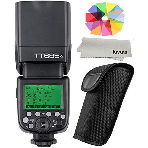 Godox tt685o GN601/8000s HSS 0,1-2.S blitzfolgezeit 230voller Power Blinkt 22Stufen der Macht Ausgang 2.4G TTL Kamera Flash Speedlite mit Filter Gel-Kit für Olympus Panasonic Kameras Gel Filter Kit