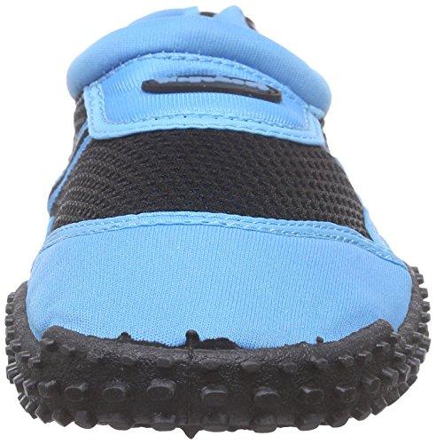 Playshoes Badeschuhe, Surfschuhe Damen Aqua Schuhe Blau (blau 7)