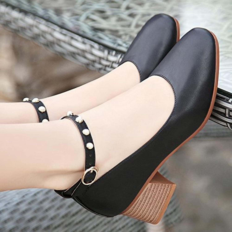 La Perla luz-cabeza cuadrada solo zapatos correas planas, con formato de negrita y gran número 40-41-43 código...