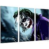 Cuadro Moderno Fotografico Batman y el Joker, superheroe, 97 x 62 cm, ref. 26591